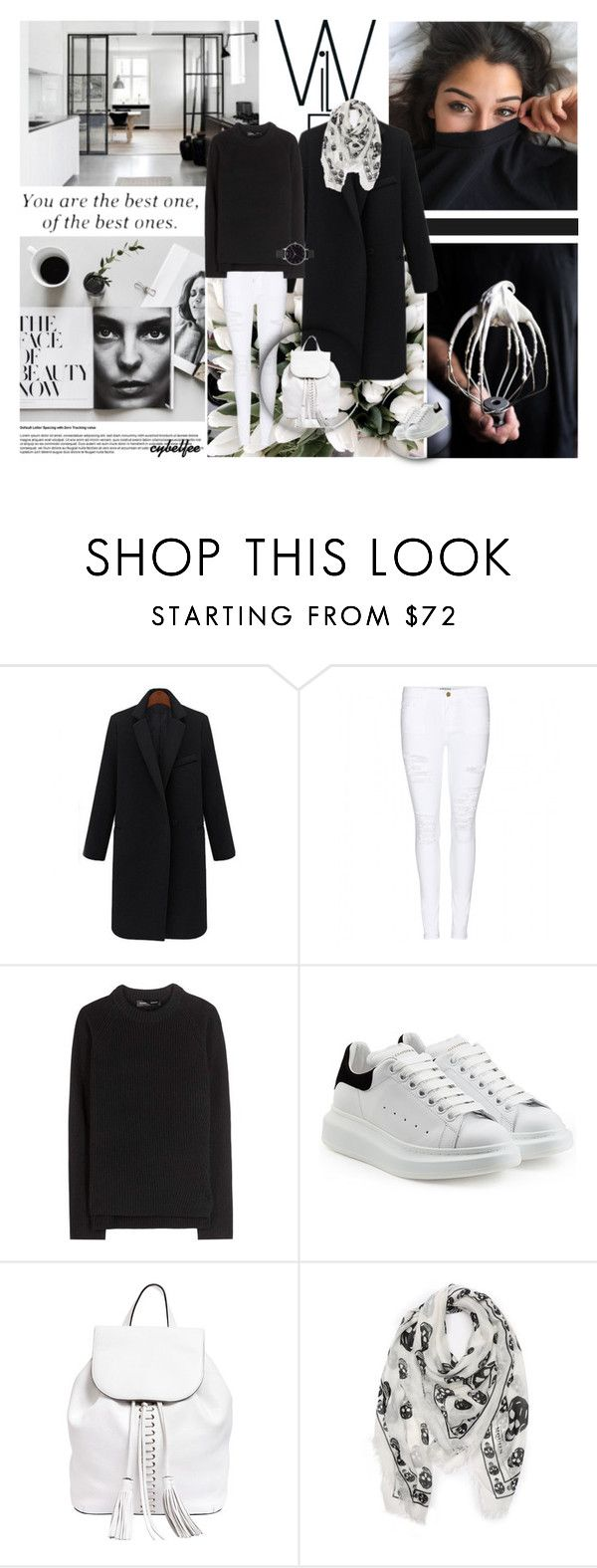 """""""You are the best one, of the best ones"""" by cybelfee ❤ liked on Polyvore featuring Frame Denim, Proenza Schouler, Alexander McQueen, Rebecca Minkoff, Olivia Burton, women's clothing, women's fashion, women, female and woman"""