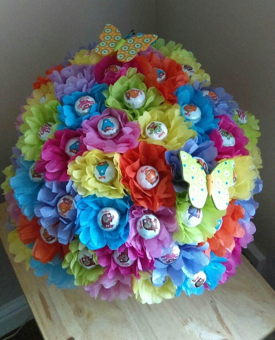 Summer meadow double lolly bouquet | Angie\'s Chocolate Creations ...