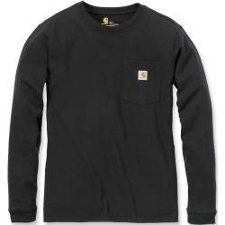 Carhartt Workwear Pocket Damen Long Sleeve Shirt Schwarz L Carhartt