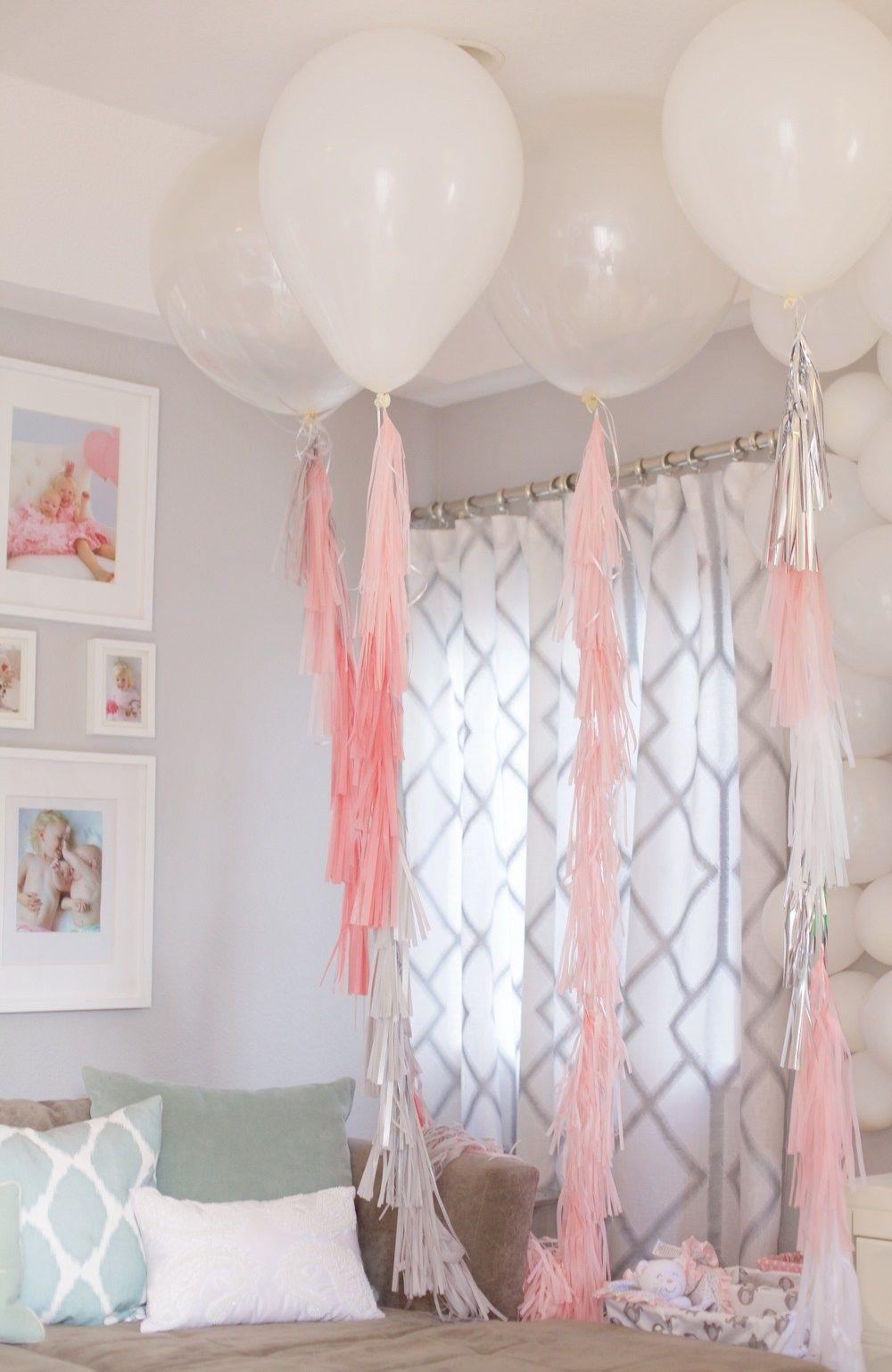 Diy Baby Girl First Birthday Party Pinterest Projects Home Made Baby Girl First Birthday Girl Birthday Themes Baby Birthday Party Girl