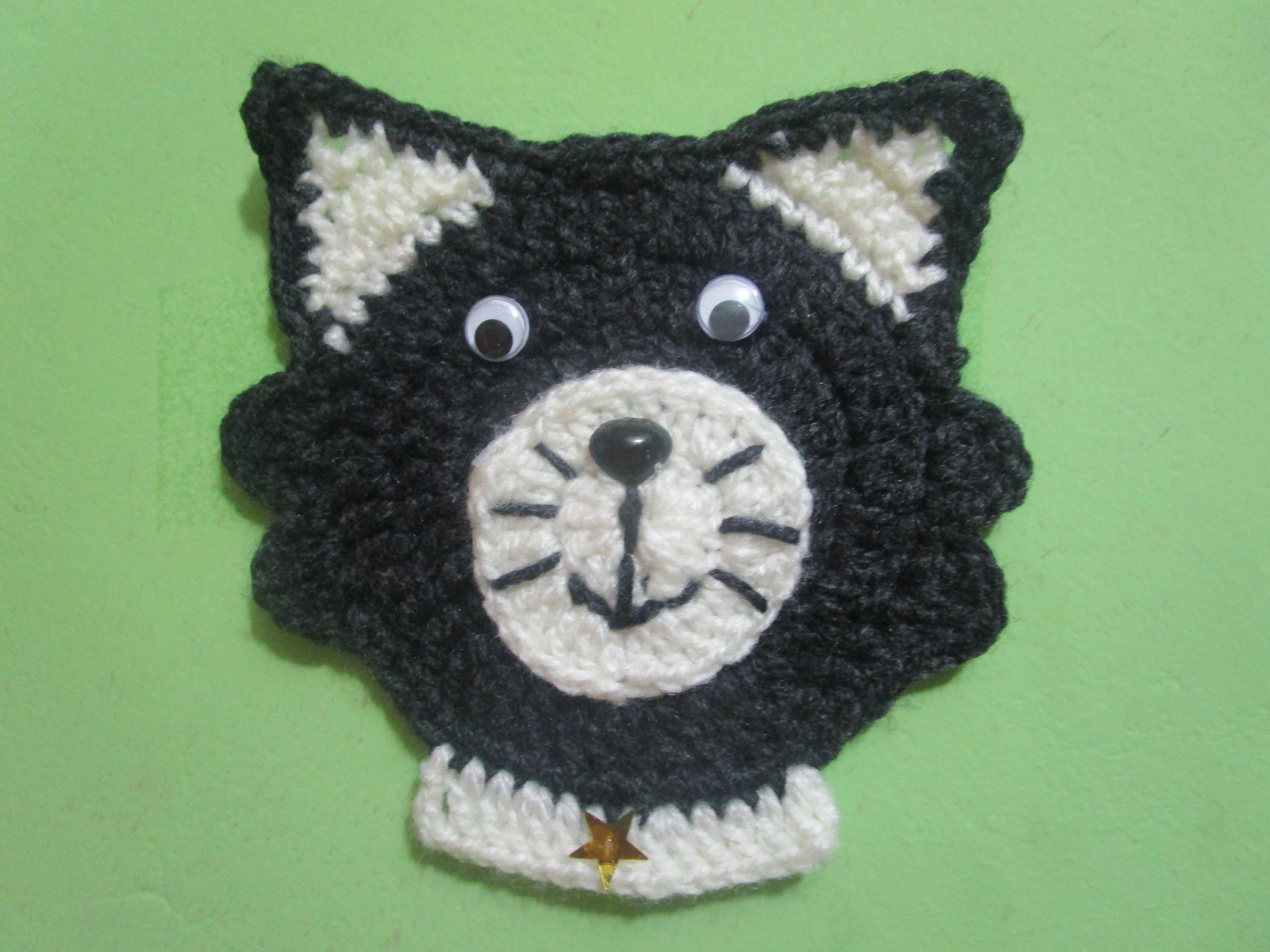 Carita De Gatito Tejido a Crochet - APLICATIVO | APLICACIONES ...