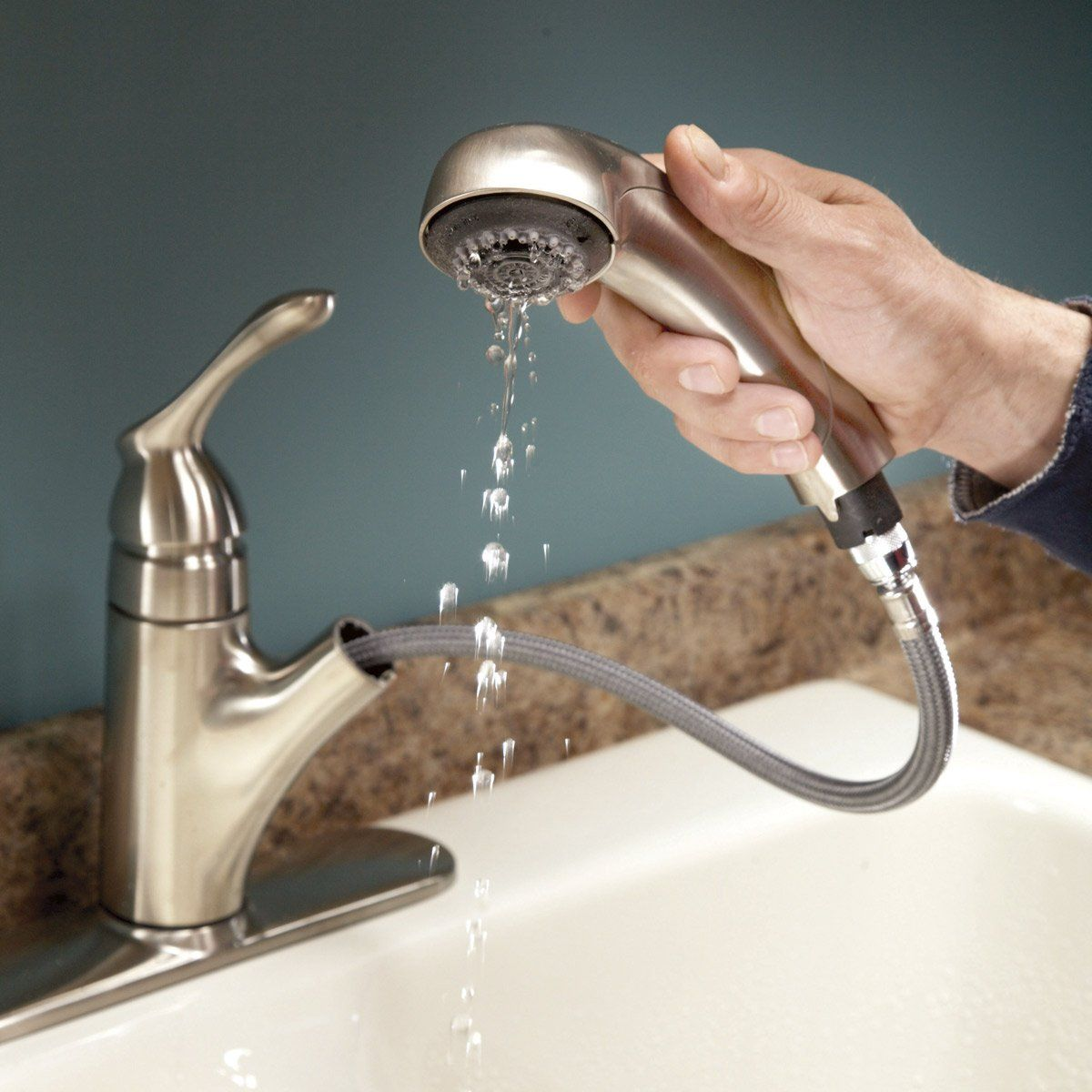 Slow Running Water Unclog The Aerator Faucet Repair Kitchen Faucet Cleaning Faucets [ 1200 x 1200 Pixel ]