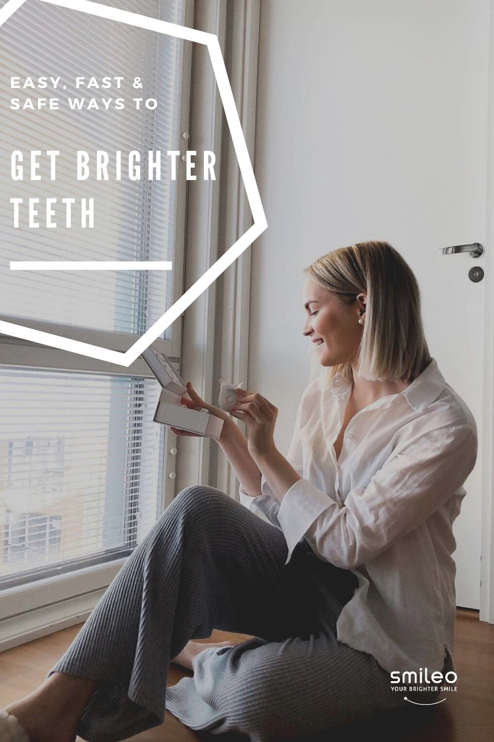 Get find out Easy, Fast and Safe way to your Brighter Smile! All our products are 100% Vegan 🌱 #Brighterteeth #smileo #TeethWhitening #OralCare #Beauty #BeautyProducts #NaturalProducts #AllNatural #AtHomeWhitening #BrighterSmile #VeganProduct #OralCosmetics #CrueltyFree #CrueltyFreeBeauty #CrueltyFreeCosmetics #OralCareRoutineBeautyProducts #WhiteTeeth
