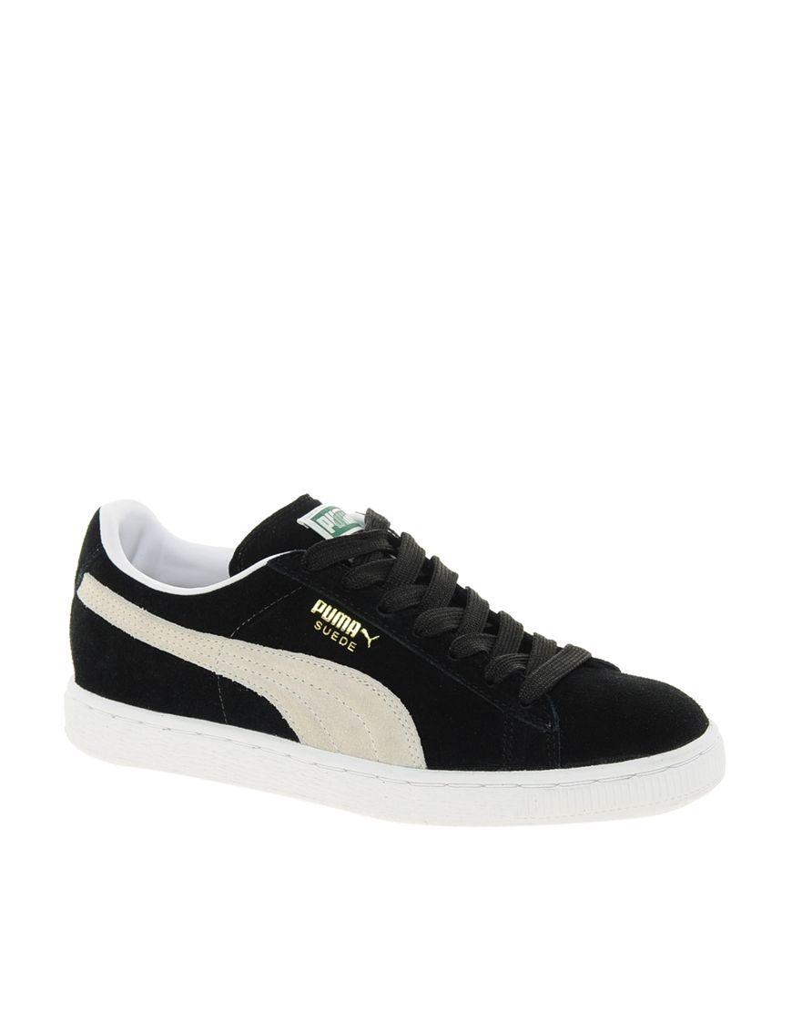 Puma Suede Classic Black Trainers | Zapatillas deportivas