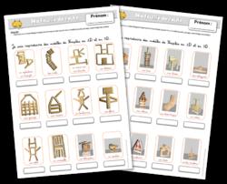 feuille de route kaplas instruction en famille homeschool pinterest montessori math and. Black Bedroom Furniture Sets. Home Design Ideas
