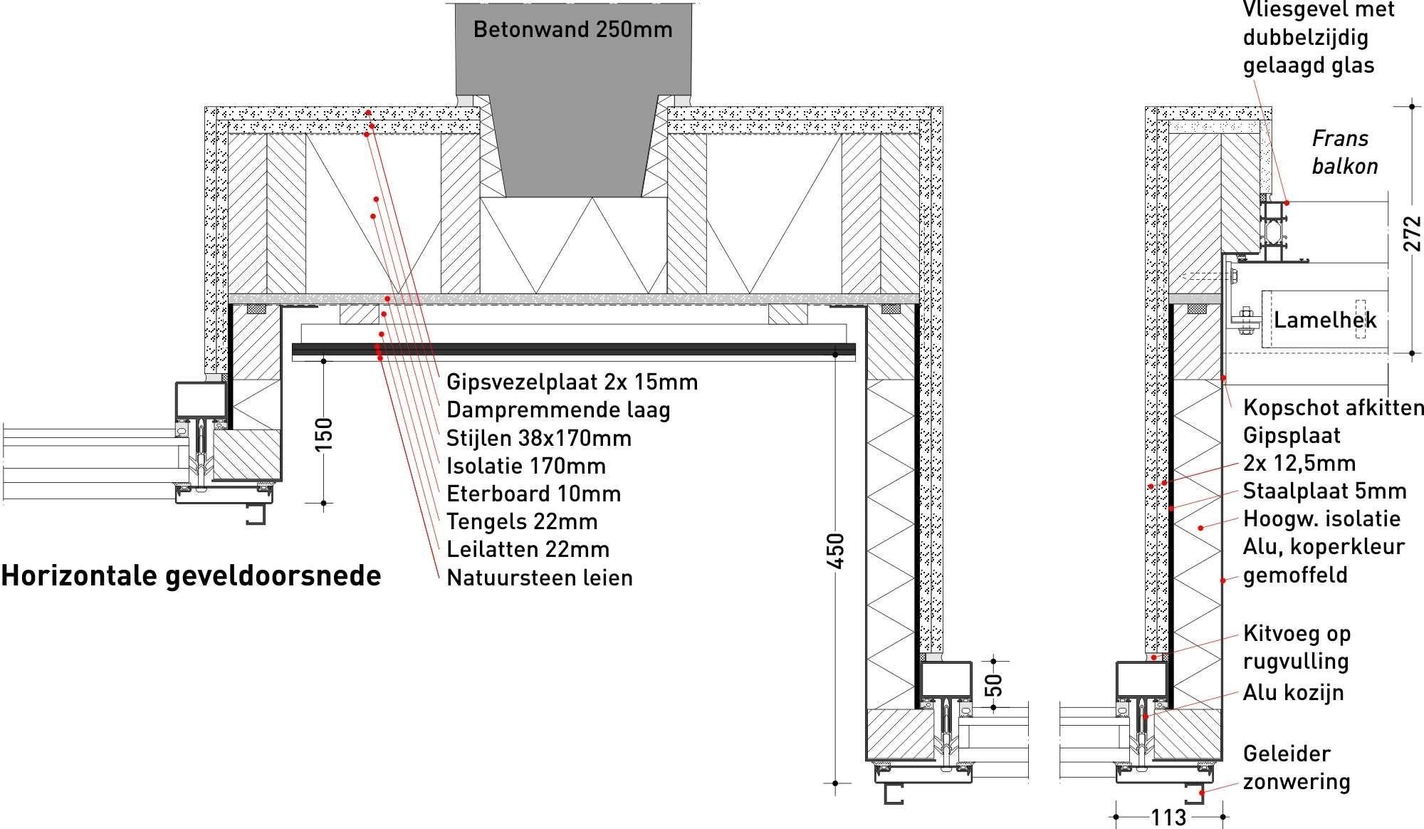 Aluminium erkers in vijf standen - Bouwwereld.nl (www.groosman.com / @GroosmanNL)