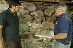 How To Repoint A Stone Foundation Basement Repair Old Basement Old Stone Houses