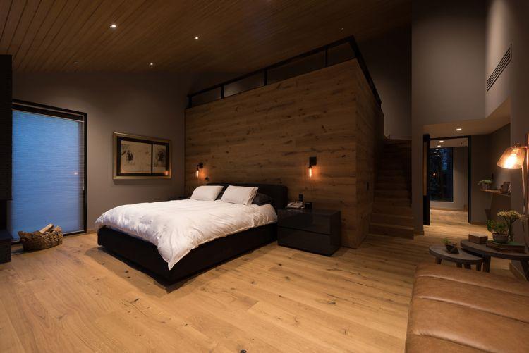 alte ziegelsteine holz loft schlafzimmer rustikal | Wohnideen fürs ...