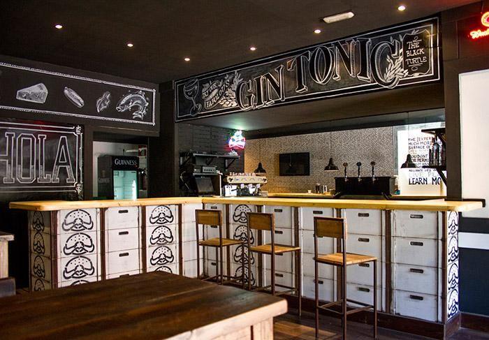 decoracion-barra-bar-hamburgueseria.jpg (700×487)   Bar   Pinterest ...