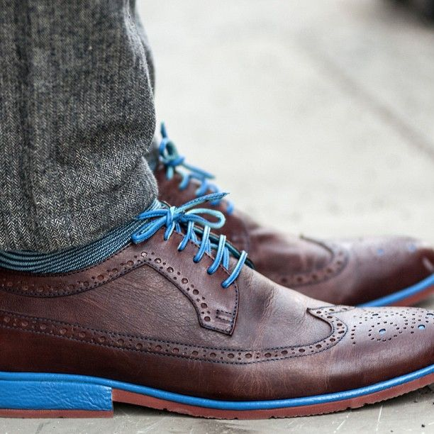 classic brown leather brogue