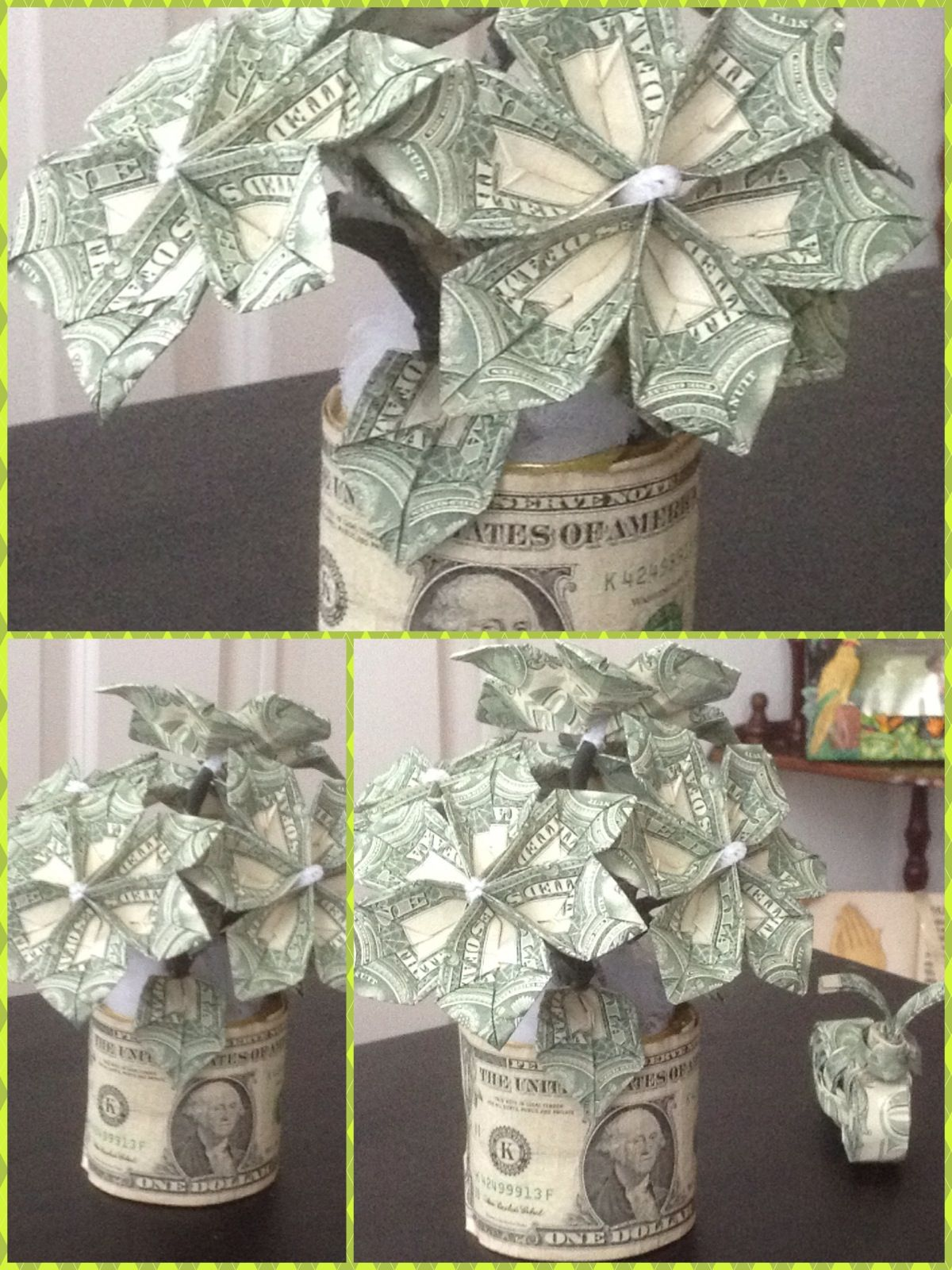 Flowers made of dollar bills things i make pinterest money flowers made of dollar bills mightylinksfo