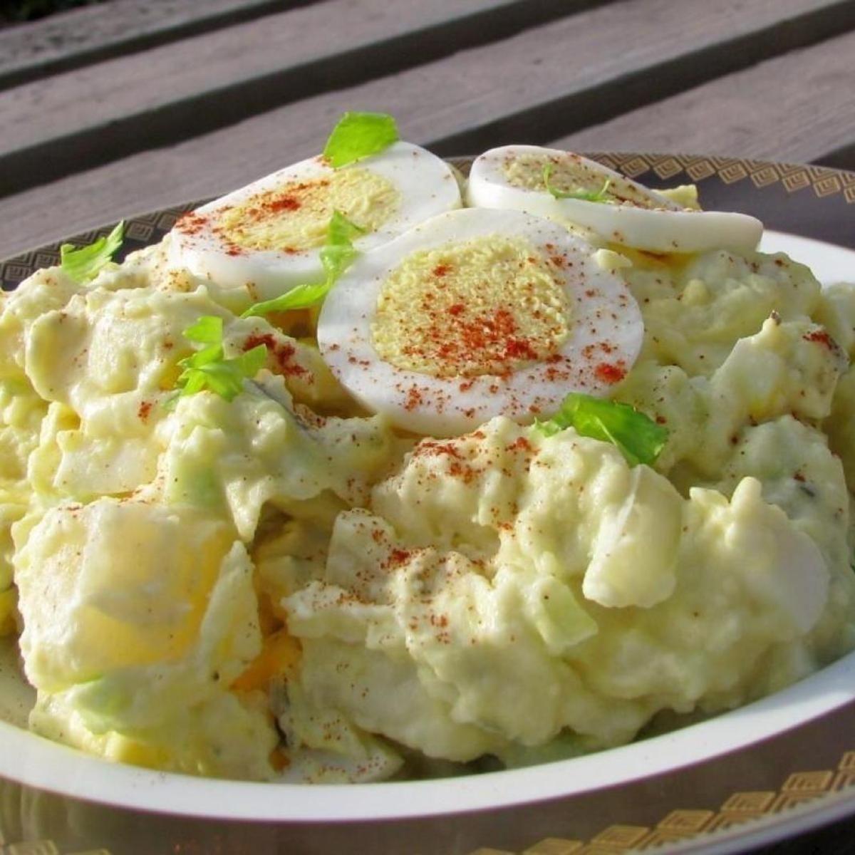 Potato Salad With Egg Dill Pickle And Tarragon