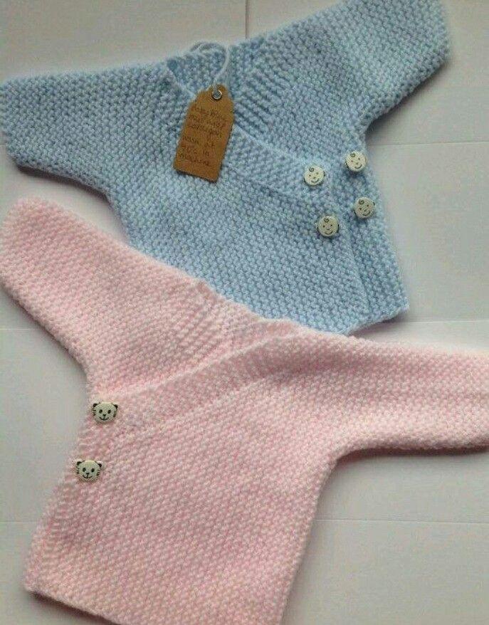 Patrón gratis de chaqueta para bebe en Molan mis Calcetas ba344e9f58c0
