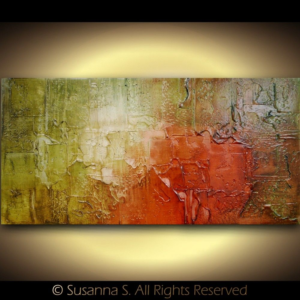 Susanna Shap - Green Red Brown | Abstracts | Pinterest | Textured ...