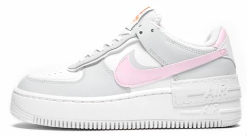 Nike Air Force 1 Shadow Pink Grey Nike Air Shoes Nike Air Nike Air Force Sneaker Кроссовки grateful dead bears x nike sb dunk low green. nike air force 1 shadow pink grey