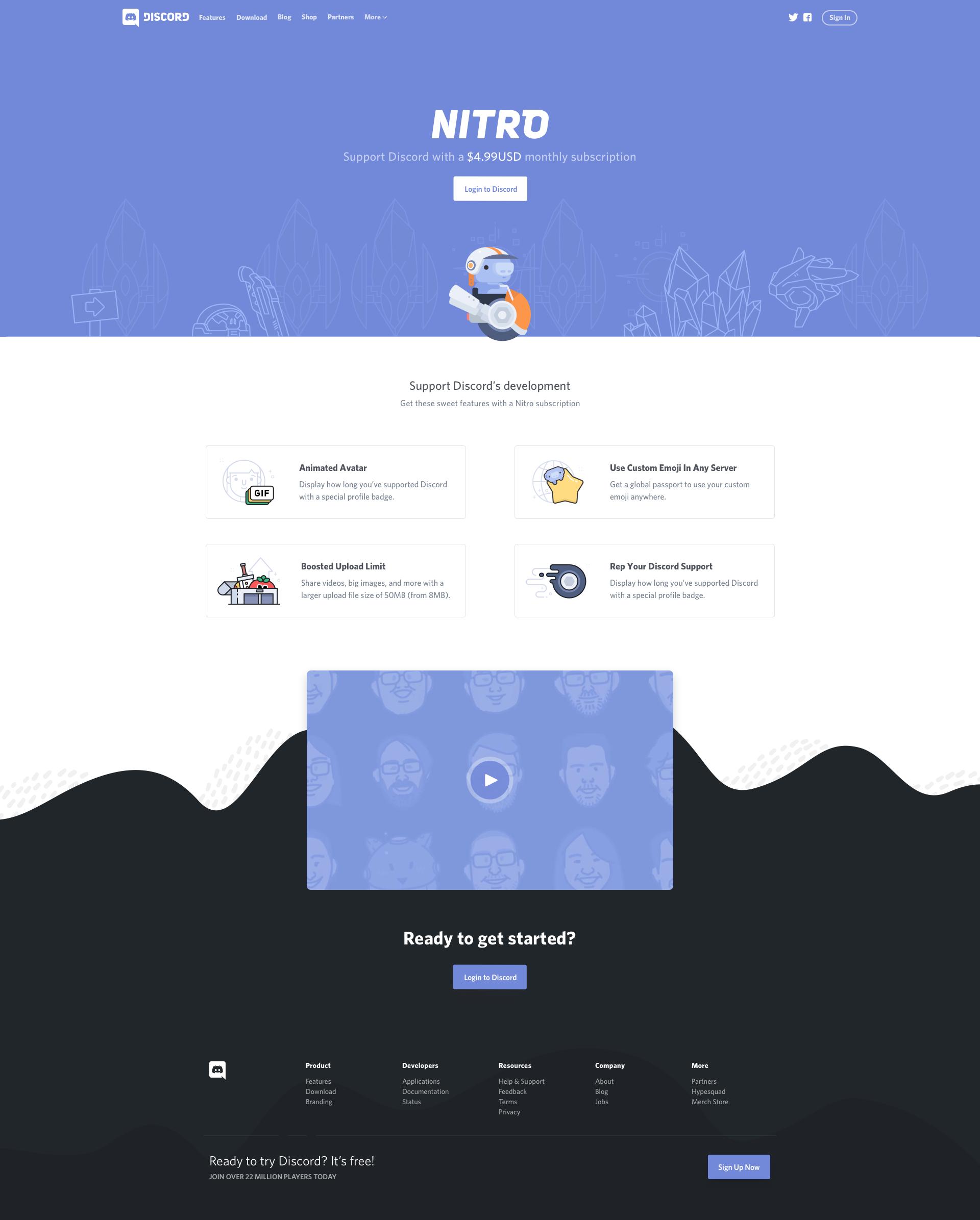 Nitro full dribbble | Web design | Web design, Website, Ui ux