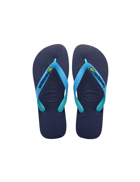Pantoufles Tongs Havaianas Top Mix Bleu GP3vo5X