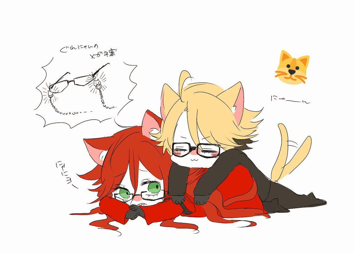 Black butler ronald knox and grell