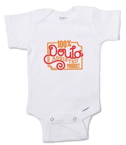 This Ultra Hip Onesie Is A Great And Unique Gift For Doula