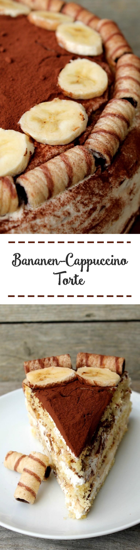 Bananen Cappuccino Torte