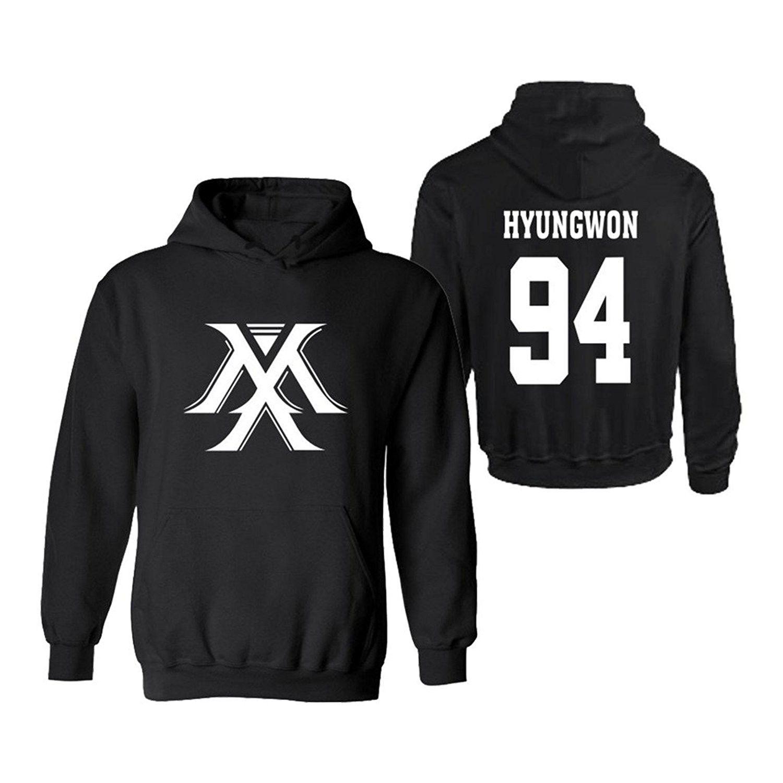 KPOP Monsta X 3D Digital Printed Wonho JooHeon IM Shownu Minhyuk hoodie Sweatshirt Pullover