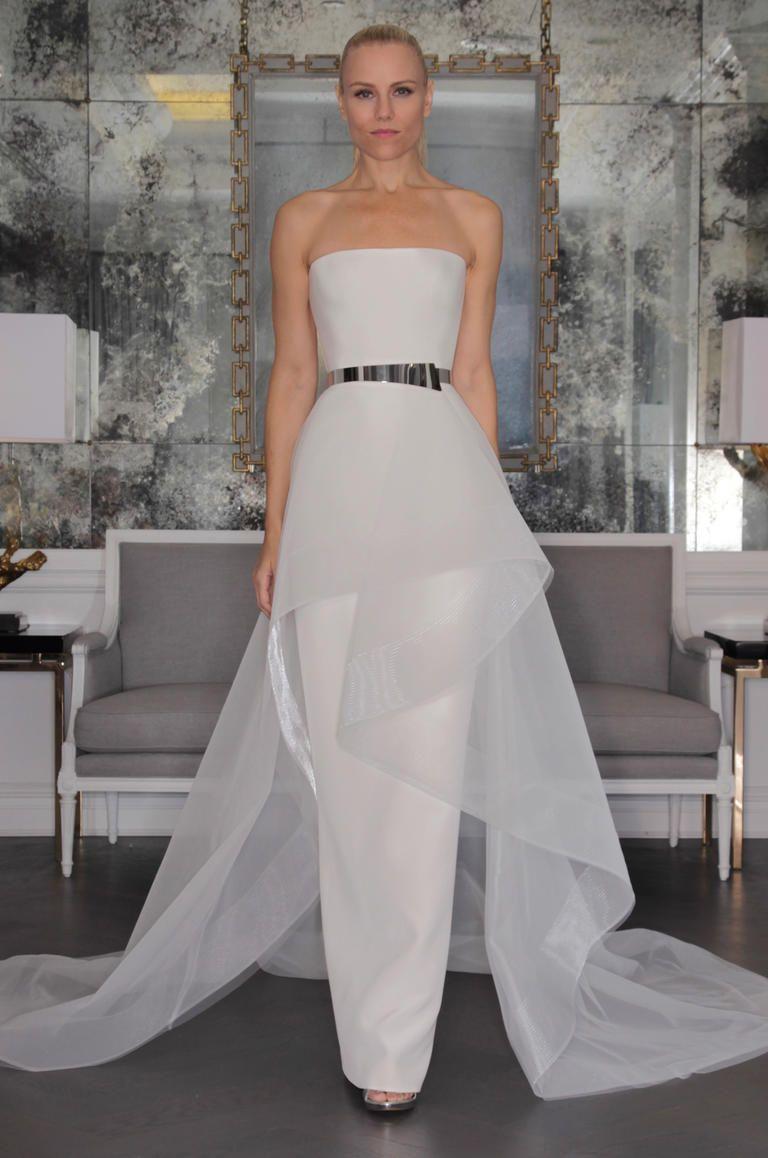 Ziemlich Column Wedding Gown Ideen - Brautkleider Ideen - bodmaslive.com