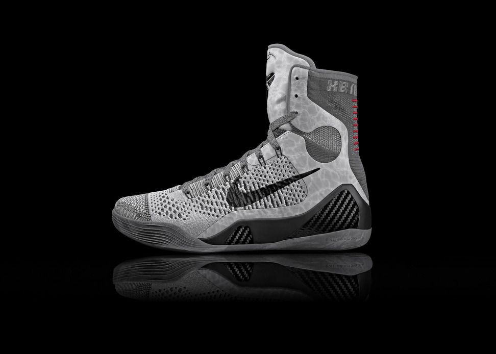 cheap for discount b0a8f 2c08c Nike Kobe 9 Elite Perspective Grey Detail