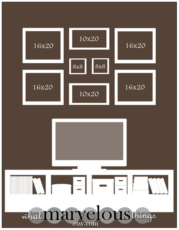 Best 20 photo wall arrangements ideas on pinterest wall - Photo wall display template ...