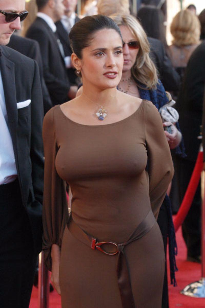 Salma Hayek S Nipples 20