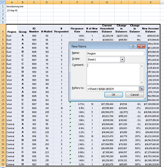 Preparing Excel Files for Analysis | Tableau Software
