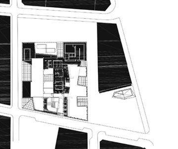 Caixa Forum Level 4 Plan Drawing   Herzog U0026 De Meuron