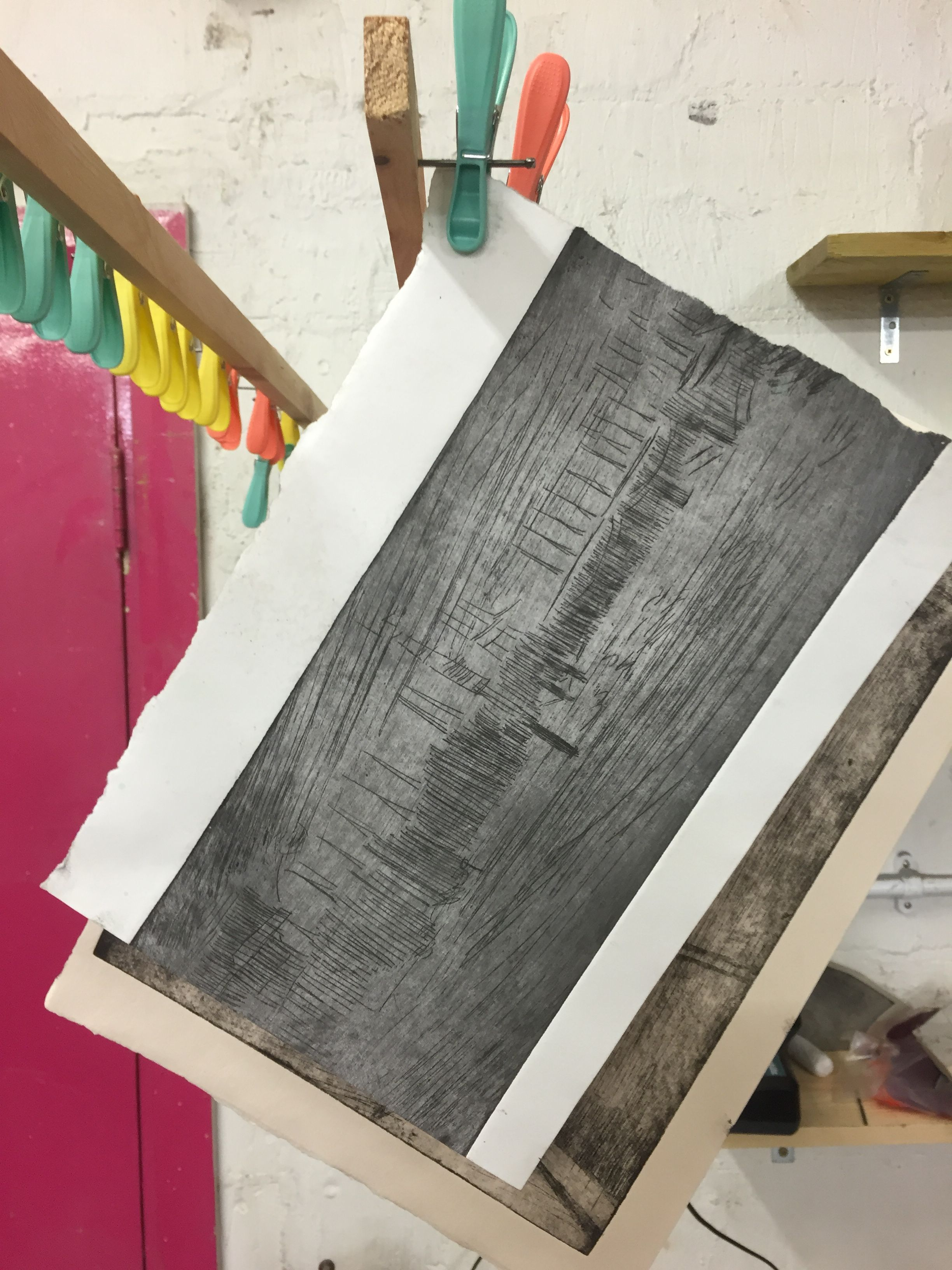 London Printmaking Etching Course Focuses On The Fundamentals Of