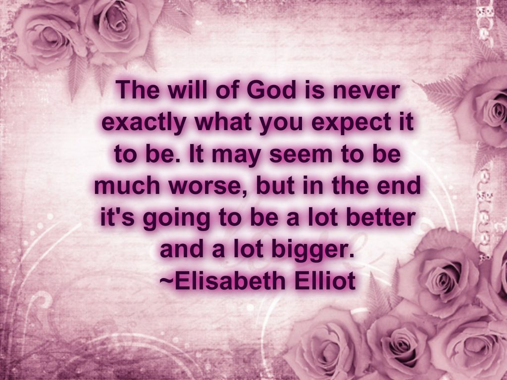 """I love her quotes in Be Still about God """"sifting"""" and """"refining"""" her so that her life """"sands"""" were not full of rocks of fruits of the flesh. God perfectly prepared her for the work ahead of her."""