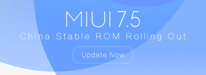 Download MIUI 7 5 Update (China Stable ROM) – Changelog, New