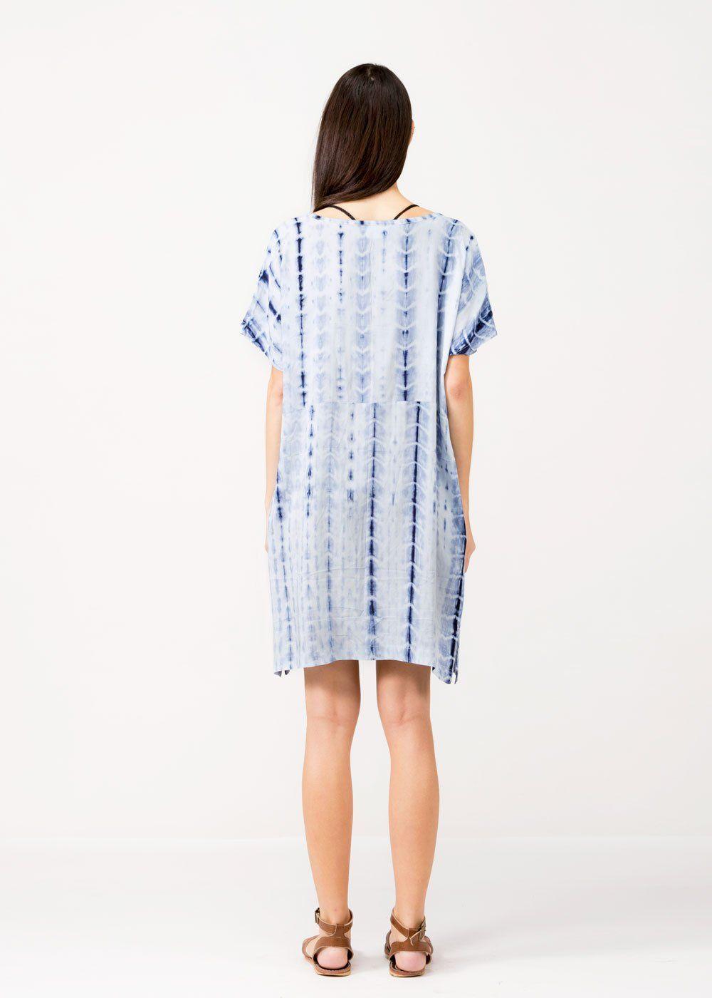 a2bef018aeef Stripe Tie Dye Dress – Look By M