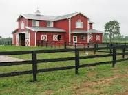 A big nice barn for all my horses. :)