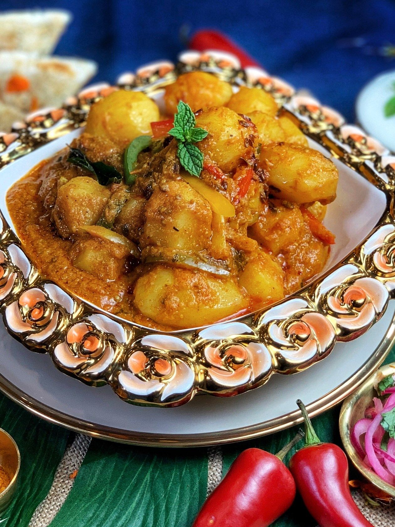 dum aloo potato curry instant pot or stovetop recipe potato curry quick dishes indian on hebbar s kitchen recipes dum aloo id=47296