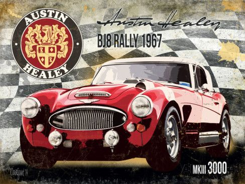 Austin Healey BJ8 Rally 1967 MKIII 3000