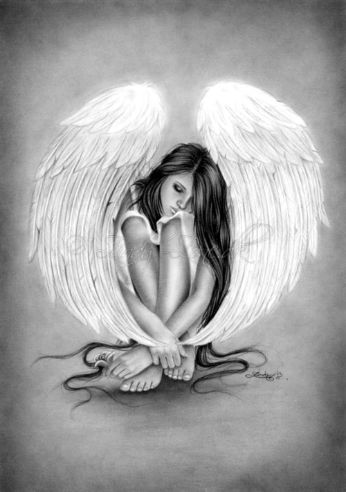 7 Tumblr Ragazza Fantasy Tatuaggi Con Angeli Idee Per Tatuaggi