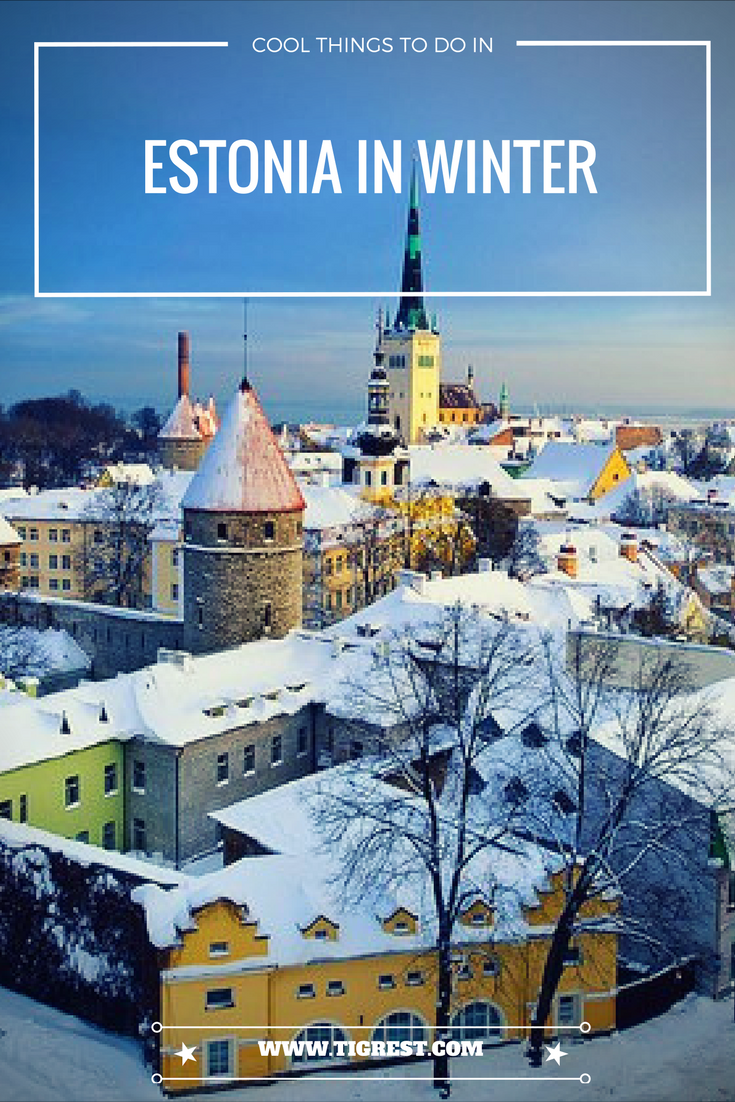 Winters in Estonia are long and cold. But there is always something to do! Estonians come up with different ways to spend their time!
