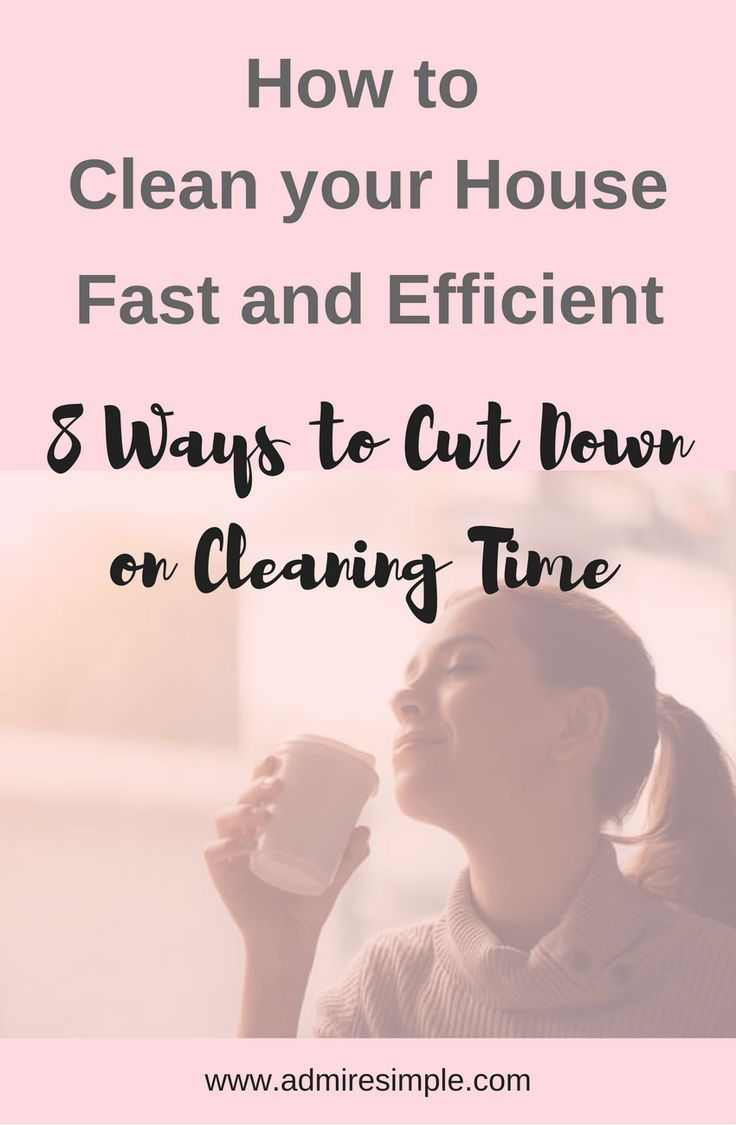How To Clean Your House Fast And Efficient Cleaning Schedule Pinterest Routines Schedules