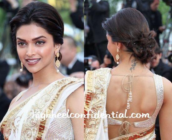 Image Result For Deepika Padukone Updo Hairstyles Bollywood Hairstyles Deepika Padukone Hair Gorgeous Hair
