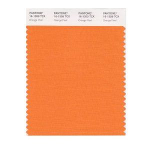Tangerine color swatch
