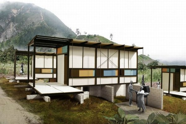 Earthquake proof homes to allow safe refuge during natural for Earthquake resistant home designs