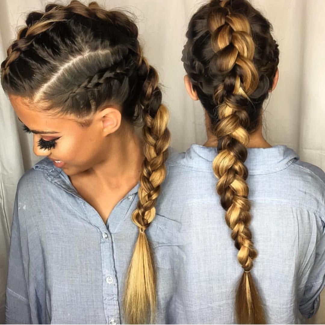 Braided Updos African American Braided Hairstyles Short Braid Hairstyles Quick And Easy Brai In 2020 Geflochtene Haare Zopf Lange Haare Leicht Geflochtene Frisuren