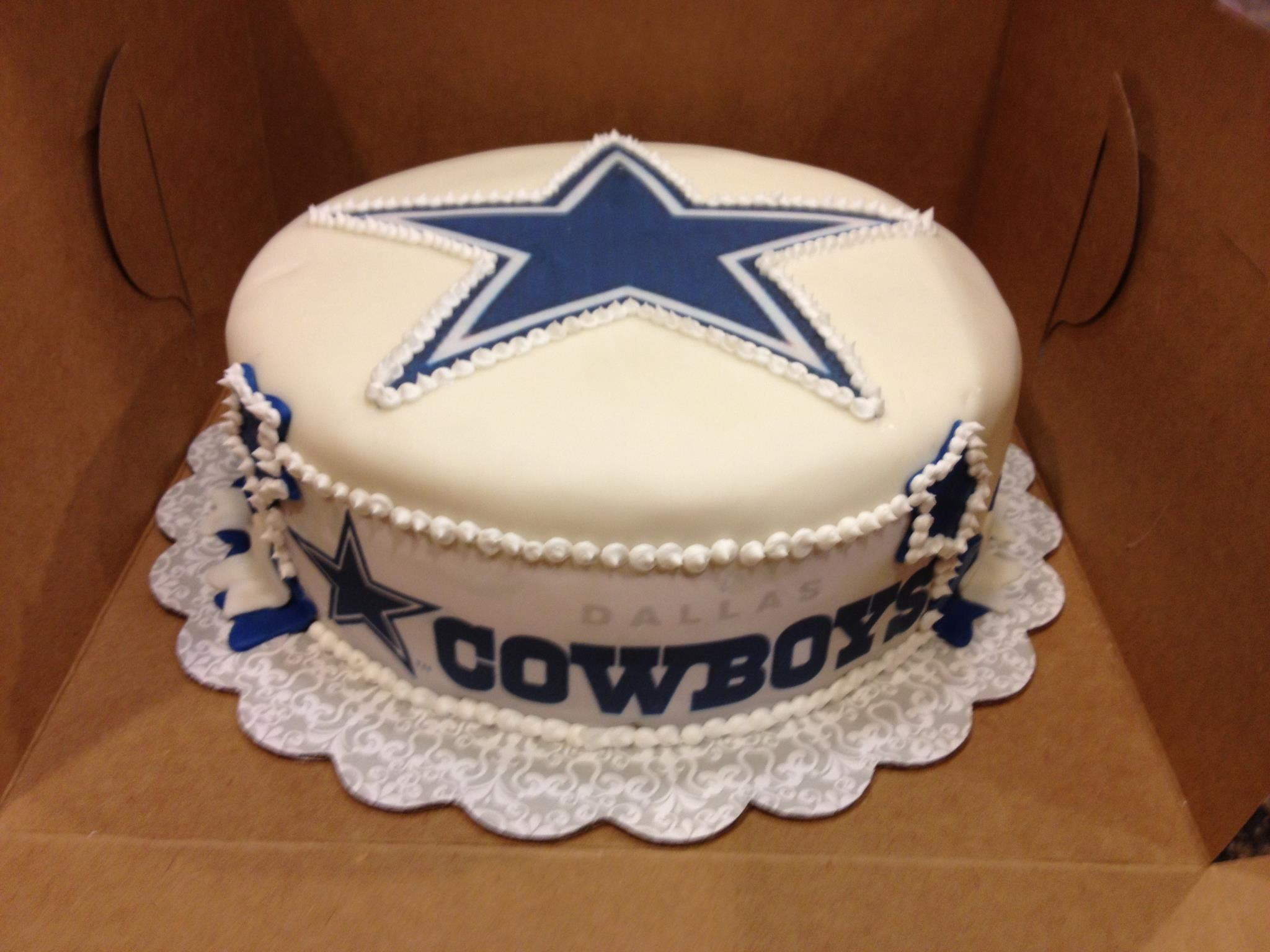 Dallas cowboys birthday cake ideas and designs - Dallas Cowboys Cake This Would Be Nice For My Birthday