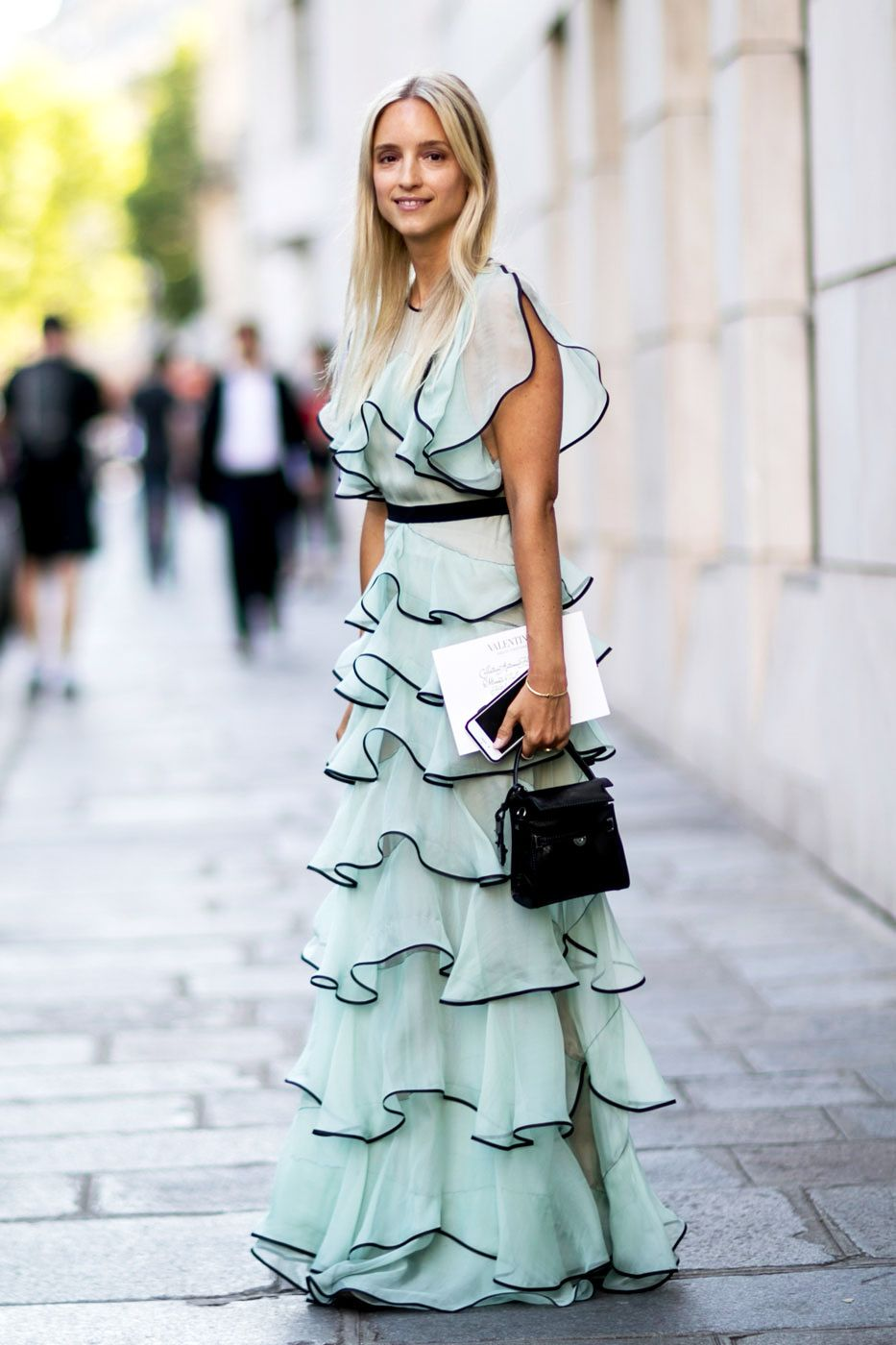 Wear You Would Mixed Greens?, How to black wear palazzo trousers