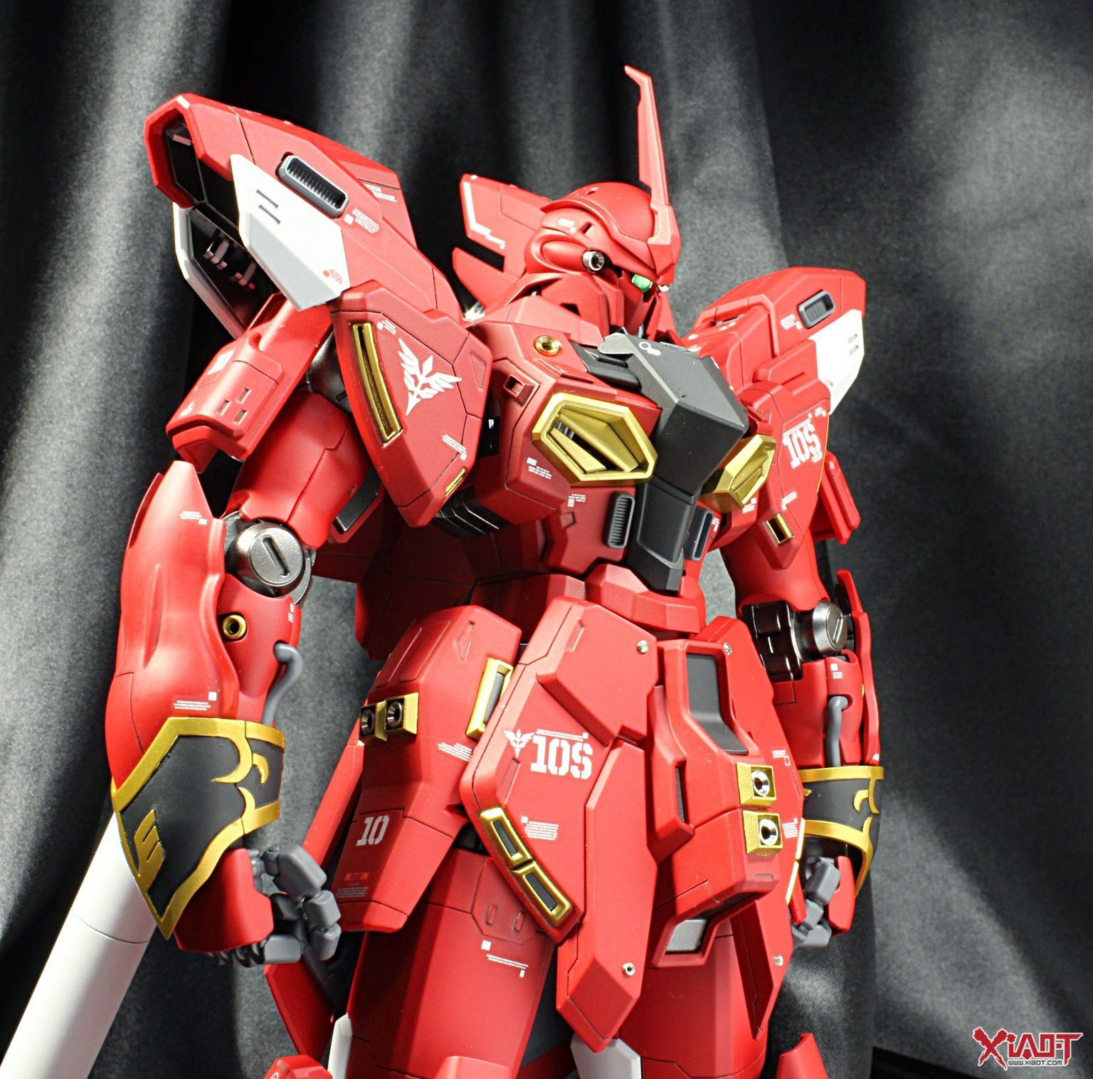 Custom Build Mg 1 100 Sinanju Stein Red Custom Build Custom