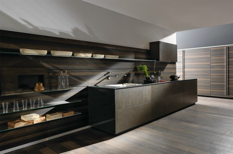 @valcucine Riciclantica Is Evolving: Stainless Steel And Special Rough  Finish #kitchen #design