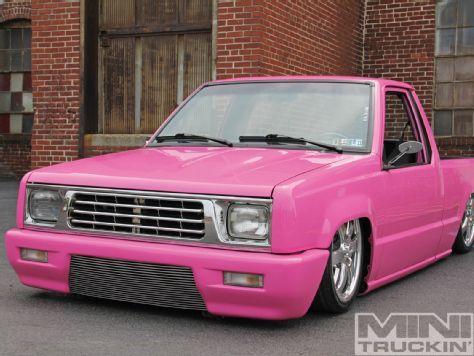 Mighty Low  Mitsubishi Mighty Max Mini Truckin Magazine